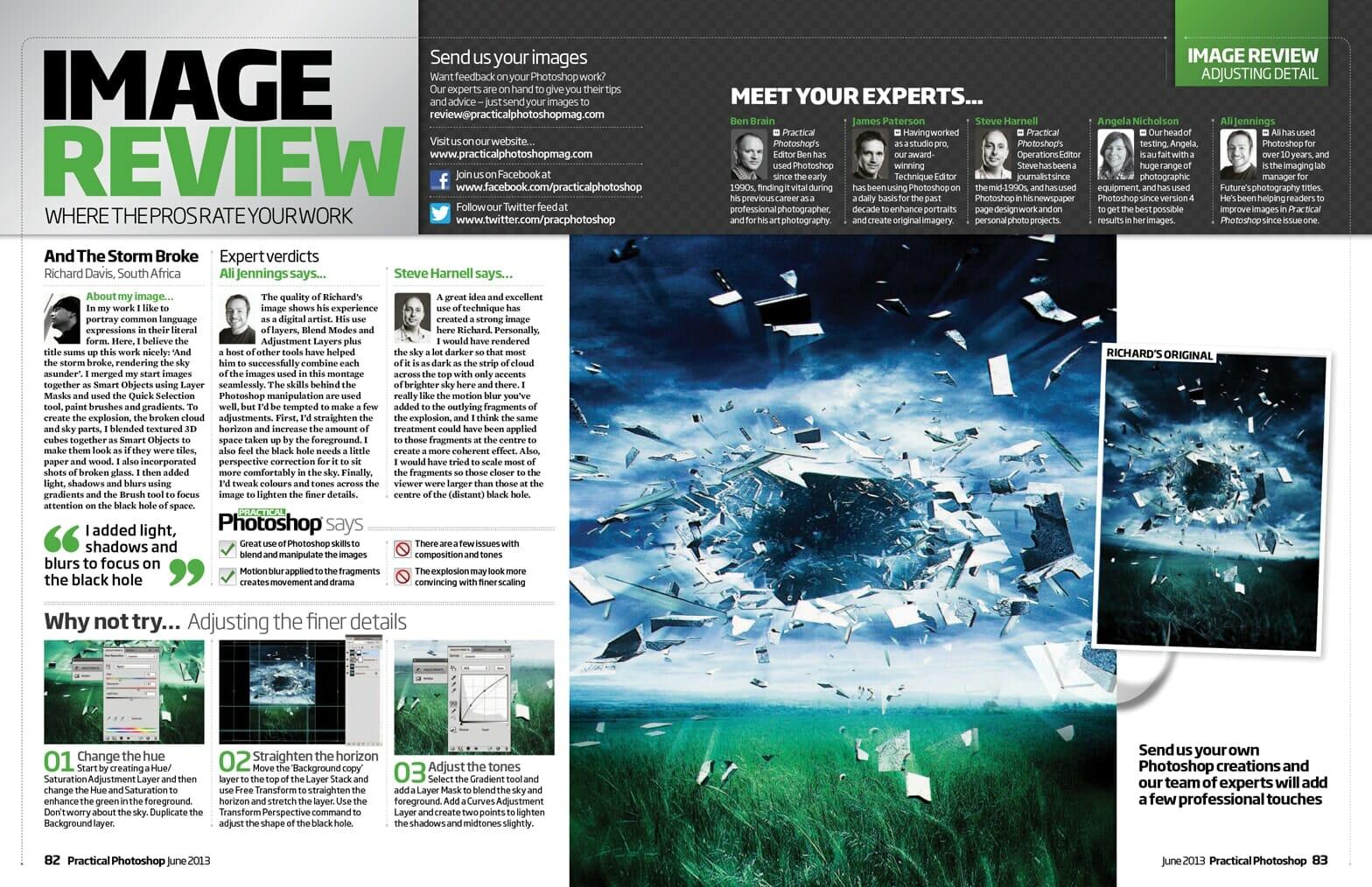 Practical Photoshop June 2013 magazine Image Review