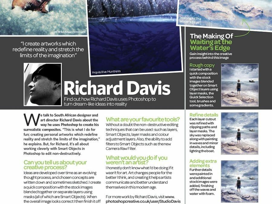 Photoshop Creative Magazine issue 107 interview