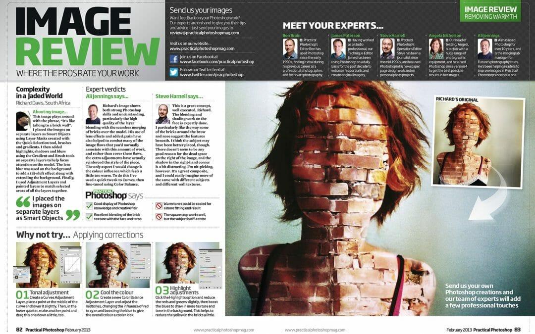 Practical Photoshop February 2013 magazine Image Review